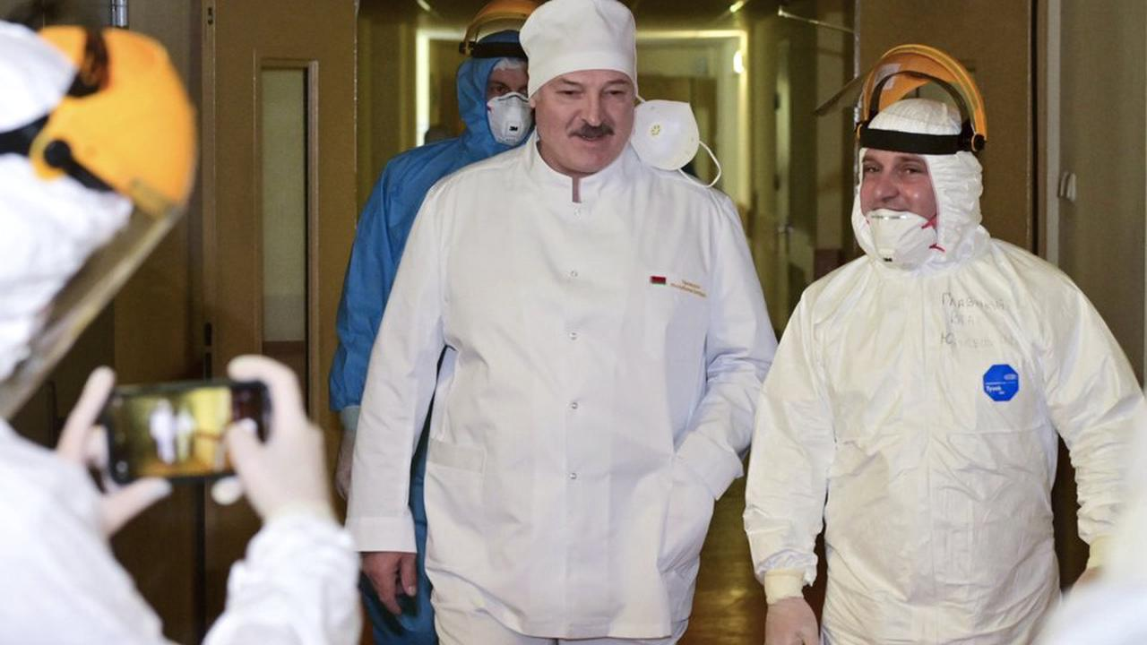 Belarus starts COVID-19 vaccinations with Russian shots