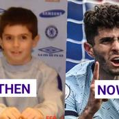 Photos Of Christian Pulisic When He Visited Chelsea As A Child, Years Before He Signed With Them