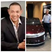 Ben Murray Bruce Showed Off His Electric Car, as He Called on Nigeria Government to Ban Engine Cars