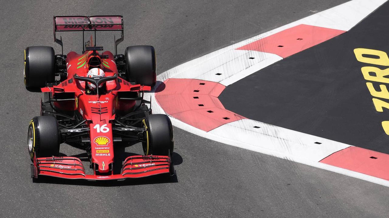 Ferrari-Pilot Leclerc holt Pole Position in Baku