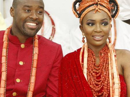 Check Out The Throwback Wedding Pictures For Olu Of Warri Designate