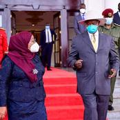 President Samia Suluhu has Been Spotted Wearing Mask During her First International Visit
