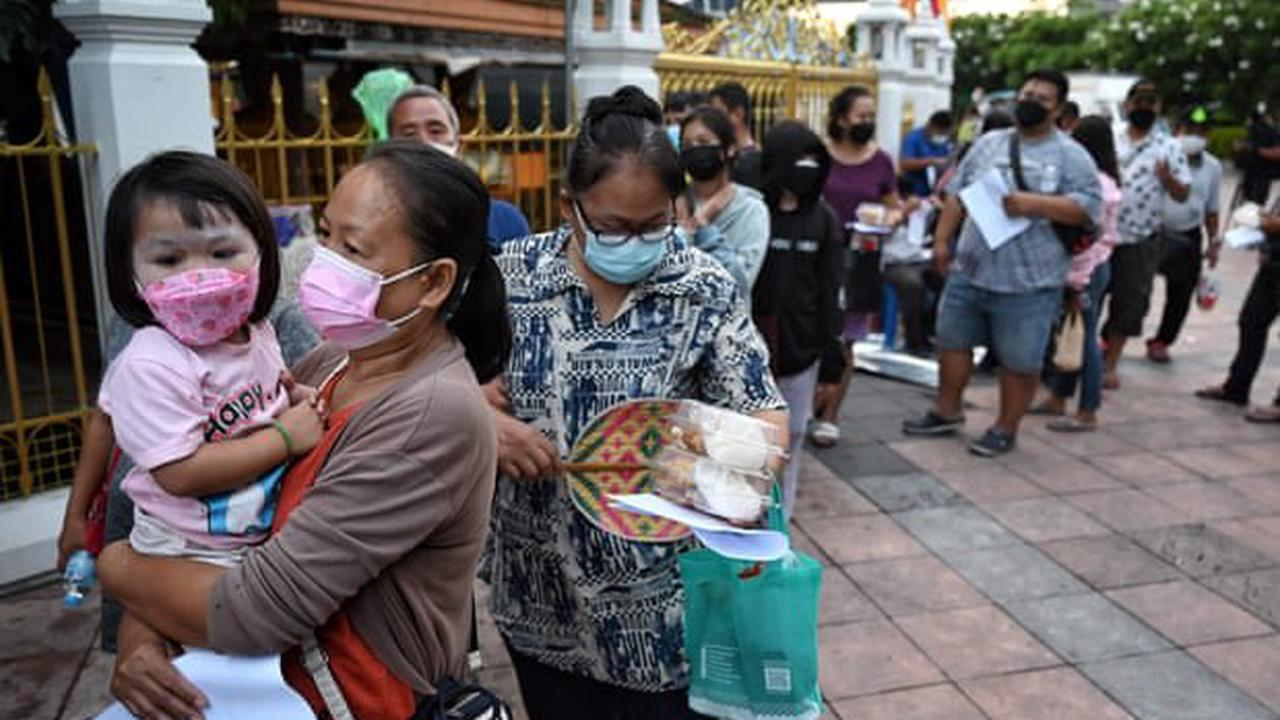 Coronavirus live news: Thailand confirms record community cases; Pfizer to ask for third dose approval