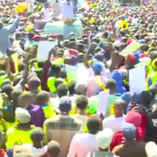 Nandi County Residents Come Out In Large Numbers To Welcome DP Ruto