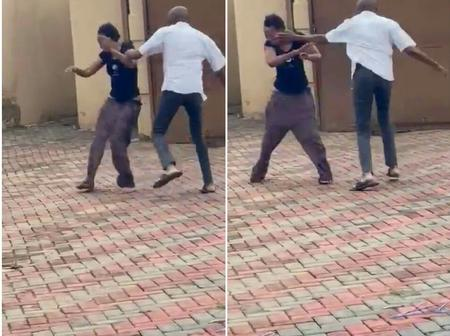 (Video) See How A 16 Years Old Girl Shot A Video Of Her Father Beating Her Mother