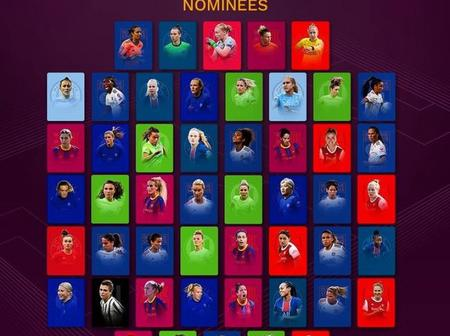Nigerian star included as UEFA releases 2020 Team Of The Year nominees for Men/Women (Photos)