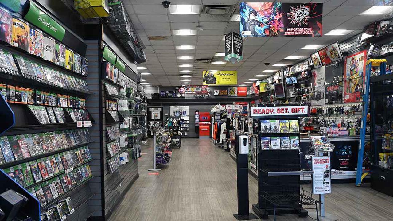Внутрішній вигляд магазину GameStop. Джерело фото: VCG