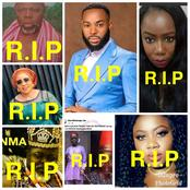 2021: See 9 Nollywood Stars Who Died In The Last 60 Days(Photos)