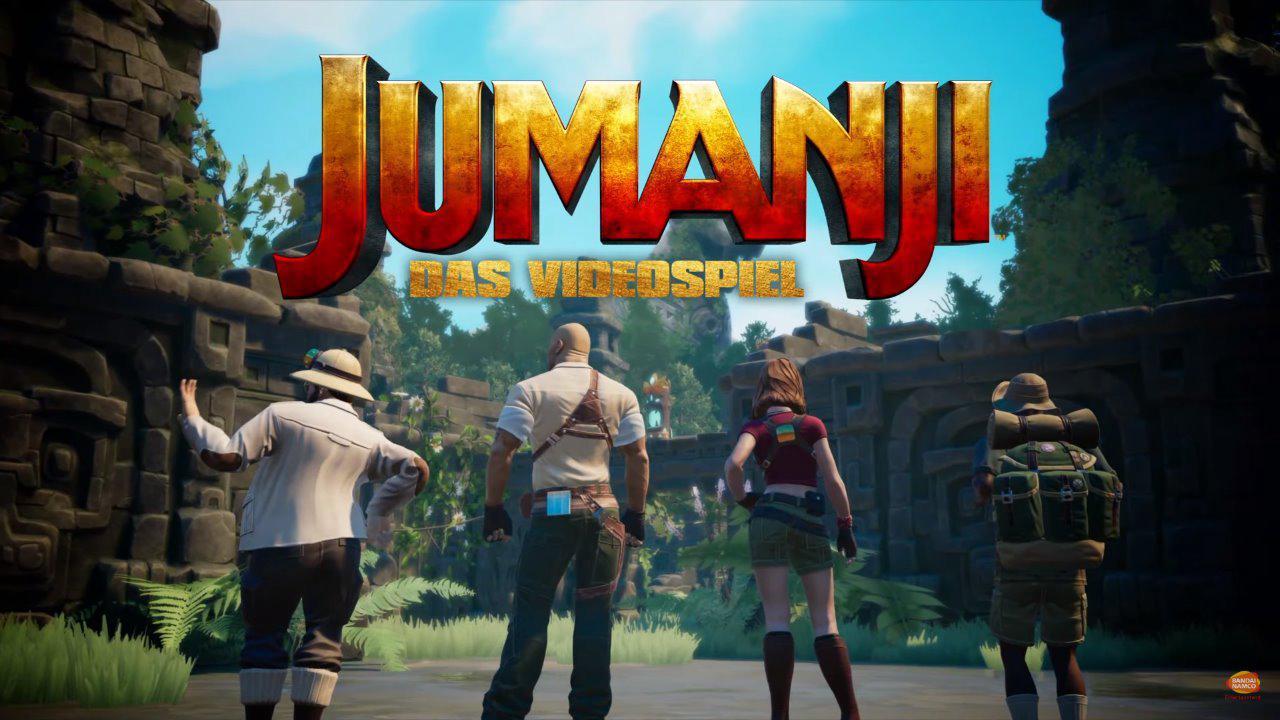 Das Videospiel Jumanji für PlayStation 5 angekündigt
