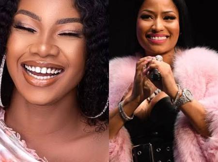 Nicki Minaj reacts after Tacha expresses joy that she is now following her on Instagram