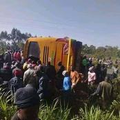 Several Passengers Reported Dead In A Deadly Accident Involving A Psv Bus In Bungoma