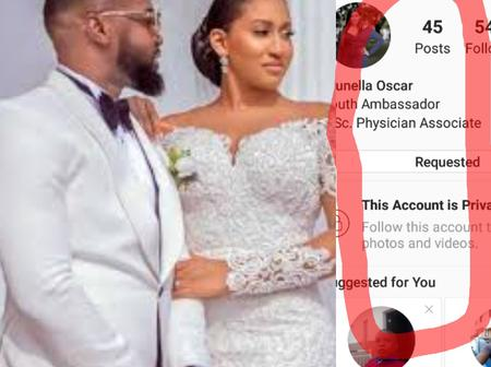 Just 1 Week After Williams Uchemba's Wedding, Checkout His Wife's Instagram Account!