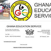 Good news: Check out the latest SHS placement release from the Ghana Education Service