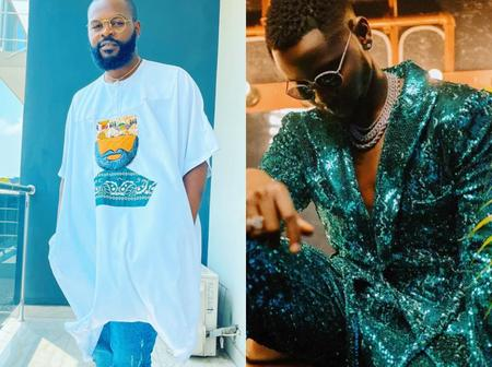 Look at what Falz said when Kizz Daniel posted new photos on Instagram