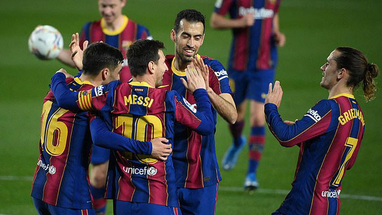 Barcelona 5-2 Getafe: Lionel Messi hits brace as Ronald Koeman's side move to third and close the gap on LaLiga title rivals Atletico Madrid and Real Madrid