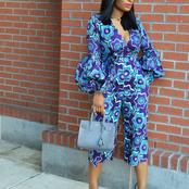 Latest ankara style you should see as a celebrity or fashionista.