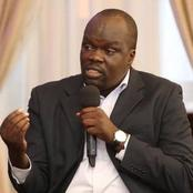 A Referendum Might not Take Place, Alai Reveals what Governmnet Wants to do