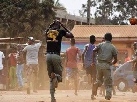 Policeman, soldiers flee for their lives as gunmen strike