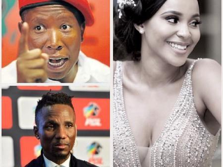 Meet Julius Malema and Teko Modise's beautiful ex-girlfriend.