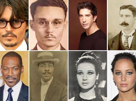 10 photos of celebrities that would make you think time travel is possible.