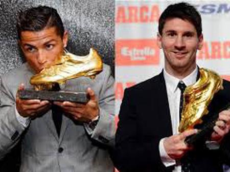 Checkout The Striker That Might Have Already Beaten Ronaldo And Messi To This European Award