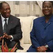 Elections législatives: Henri Konan Bédié et Alassane Ouattara se prononcent après leurs votes