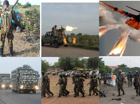 Benue Community : See 21 pictures showing the aftermath of the Nigerian army invasion in their LGA