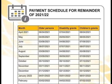 Sassa new payment dates for the whole year, the changes have been made public
