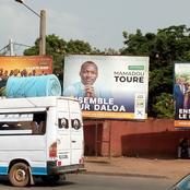 Législatives/Daloa: l'étonnante affiche du candidat RHDP au rond point dans la ville.