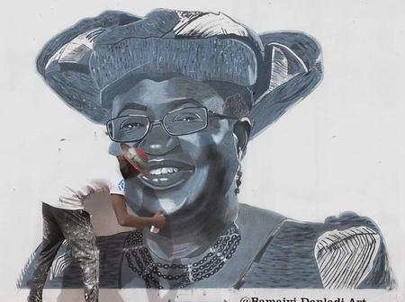 Opinion: Okonjo Iweala Should Reward This Young Man For A Good Portrait, Check Out More Photos