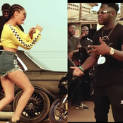 Medikal and Sister Derby Seen In New Music Video, Ghanaians Tease Medikal.