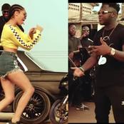 Medikal and Sister Derby Seen In New Music Video, Ghanaians Tease Medikal.