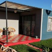 See beautiful shacks owned by residents of South Africa Limpopo province