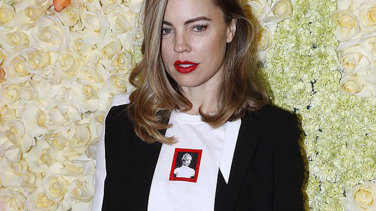 Melissa George posts a bizarre meme about death - as she maintains her silence on Home and Away co-star Dieter Brummer's suicide