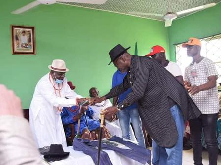 Edo Decides: Ijaw Nation Throws Support For Pastor Osagie Ize-Iyamu, Present Staff Of Office(Photos)