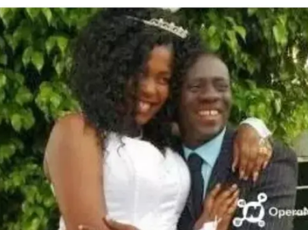 Throwback Wedding Photos Of Akrobeto And His Beautiful Wife Pops Online