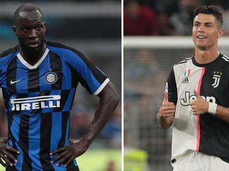 Serie A : Cristiano Ronaldo to take on Romelo Lukaku For The Top Goalscorer.