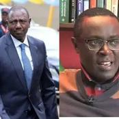 Mutahi Ngunyi's Midnight Tweet to DP Ruto While Congratulating The Kikuyu Community Over This