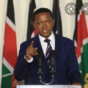 Machakos governor Alfred Mutua's advice to president Uhuru Kenyatta