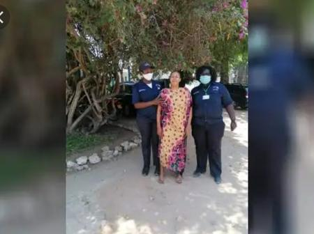 Security Guards at Likoni Save Mother Of Three From an Attempted Suicide