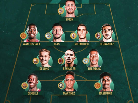 'Marcus Rashford In, Wan-Bissaka In', Best 23 Years Old Players Combined XI For Each Position