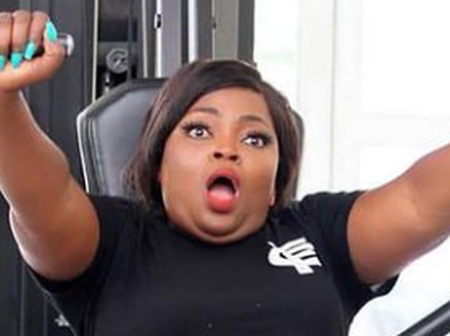 Funke Akindele Shows Off Dance Moves, Says