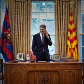 Laporta  elected as Barcelona president for the second time