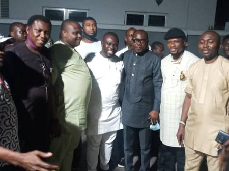 Youth Chairman Hosts Three Youths That Emerged LGA Chairmanship Candidates