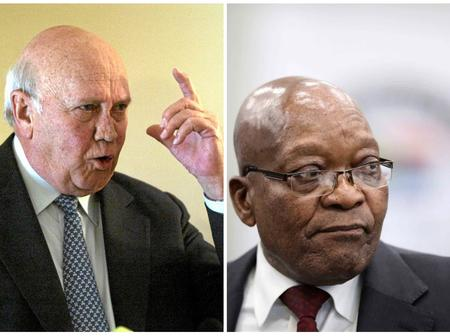 Apartheid President FW De Klerk In Hot Water For What He Said About Jacob Zuma Statement | See This