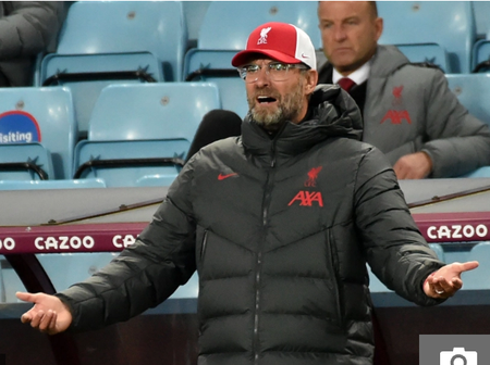 OPINION: 3 Reasons Why Jorgen Klopp Should Be Fired Following The Embarrassing Defeat To Aston Villa