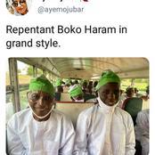 Adorable Pictures Of Repentant Boko Haram Members That Got People Talking