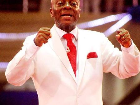 See What Bishop Oyedepo Said Will Start Happening From Today That Sparkles Reactions.