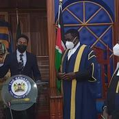 VIDEO: Abdul Haji Sworn in as New Garissa County Senator After a Non-contested Election