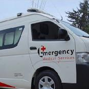 Patients Injured After Red Cross Ambulance Crushed